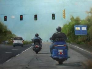 Ride On 30 x 40