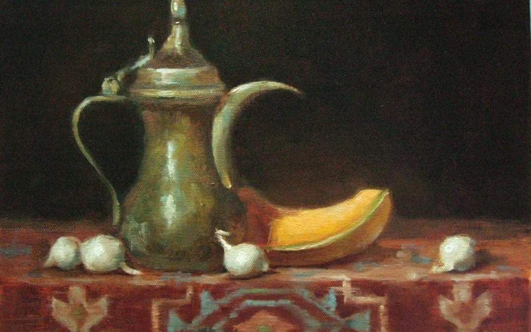 Morrocan Tea   11 x 14