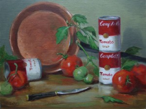 Tomatoes for Soup 12×16