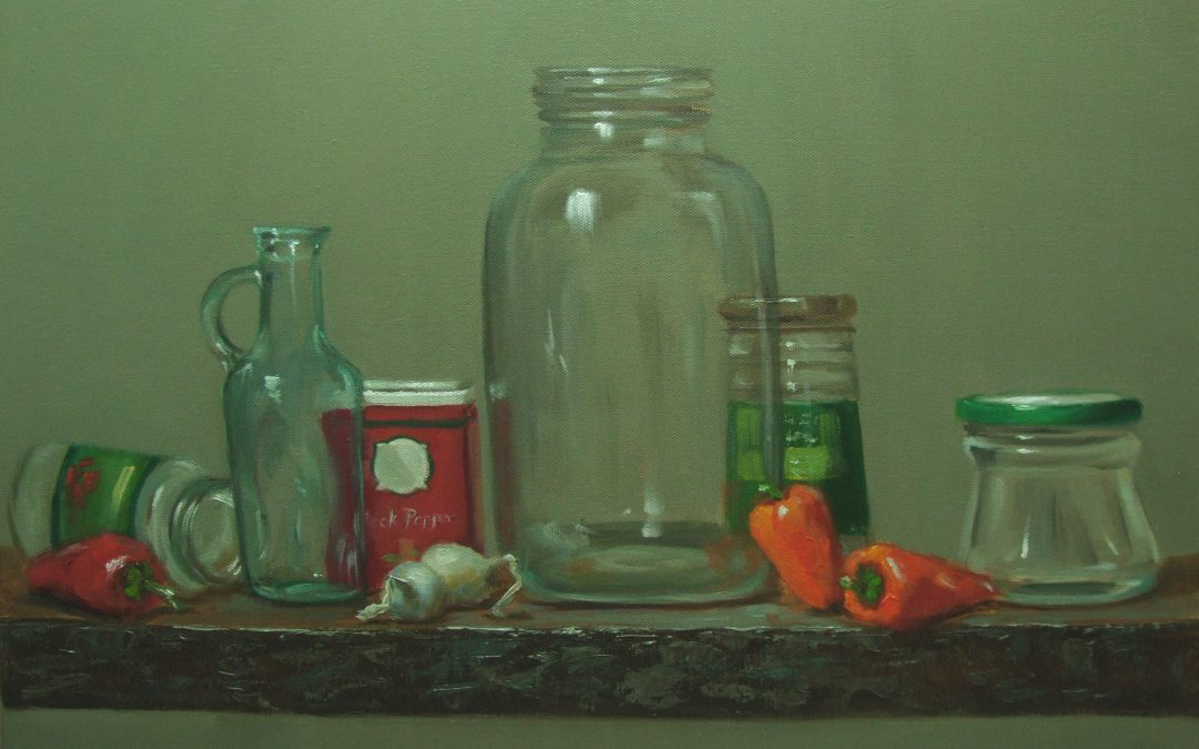 The Oil Jar   16 x 20
