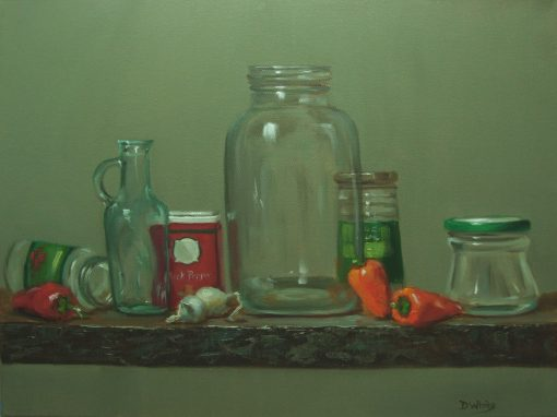 The Oil Jar   16 x 20