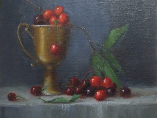 Cherry Delight   12 x 12