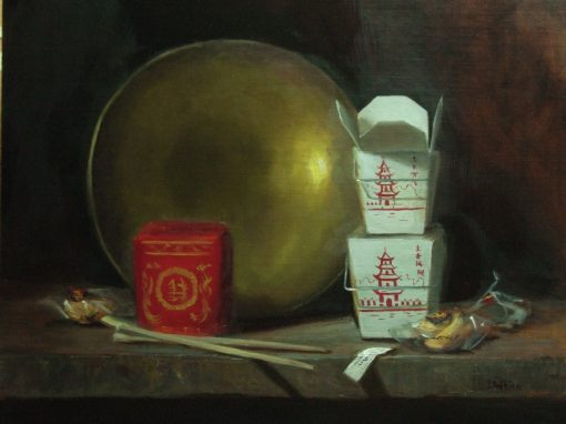 Chinese and Brass  16 x 20