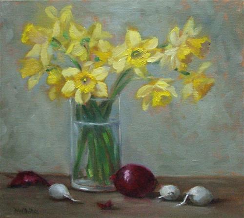 Daffodil Bouquet  12 x 12