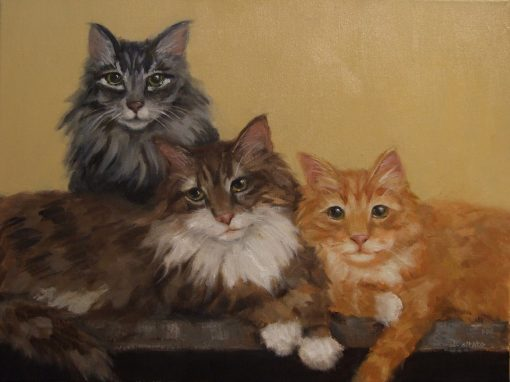 The Three Mousketeers  16 x 20